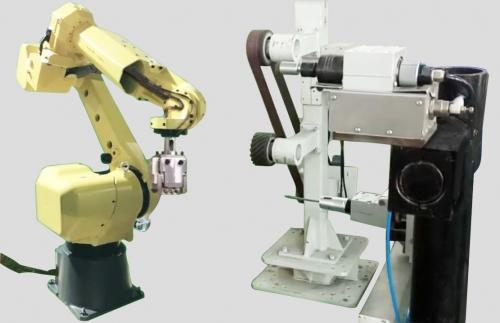 小型机器人去毛刺机